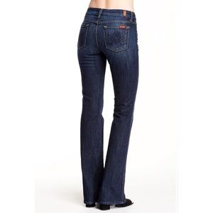 7 for all mankind a pocket bootcut flare jeans